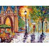 <strong>Epic Art</strong> 'London' by Karen Tarlton Painting Print on Canvas