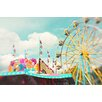 <strong>Epic Art</strong> 'Summer Carnival Fun' by Silvia Cook Photographic Print on Canvas