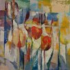 Epic Art Tulips Painting Print on Canvas