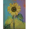 Epic Art Sunflower Painting Print on Canvas
