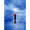 Epic Art Waiting in the Sea Graphic Art on Canvas