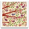 <strong>Epic Art</strong> Playroom Bliss Birds on Branches Framed Art