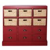 <strong>Gallerie Decor</strong> Nantucket 6 Drawer 6 Basket Chest