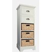 Gallerie Decor Newport 2 Drawer 2 Basket Chest