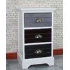 Gallerie Decor Burnside 3 Drawer Cabinet