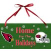 Fan Creations NFL Holiday Graphic Art Plaque