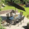 SunTime Outdoor Living Capri 8 Piece Dining Set