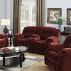 Lee Furniture Miriam Double Reclining Loveseat with Console