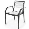 Pavilion Furniture Ecowood Mondello Stacking Dining Arm Chair