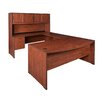 Regency Executive Bow Front U-Shape Desk Office Suite