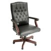 <strong>Ivy League High-Back Traditional Vinyl Swivel Executive Chair</strong> by Regency