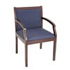 <strong>Regent Wood and Fabric Guest Side Chair</strong> by Regency