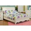 Sandberg Furniture Dulce Twin Sleigh Bed