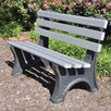 <strong>Central Park Recycled Plastic Park Bench</strong> by Frog Furnishings