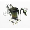 D-Art Collection Rooster Round Pot Planter