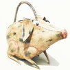 D-Art Collection Iron Pig Watering Can
