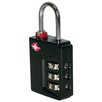 Franzus Travel Sentry 3 Dial Inspection Status Lock