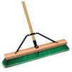 "Cequent Laitner Company 24"" Assembled Smooth Surface Push Broom"