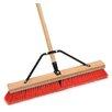 """Cequent Laitner Company 24"""" Assembled Stiff Bristle Push Broom"""