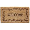 <strong>J and M Home Fashions</strong> Welcome Filigree Doormat