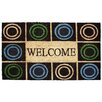 J and M Home Fashions Circles Doormat