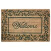 J and M Home Fashions Olive Leaves Doormat