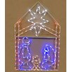 <strong>Queens of Christmas</strong> LED Nativity Scene Christmas Decoration