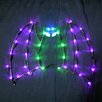 "Queens of Christmas 18"" Holloween Bat 35 LED"