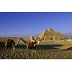 Maxwell Dickson Egypt Great Pyramids Photographic Print on Canvas