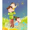 Maxwell Dickson Mommy and Kids Graphic Art on Canvas