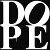 "Maxwell Dickson ""Dope Black"" Textual Art on Canvas"