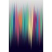 Maxwell Dickson 'Aurora' Abstract Graphic Art on Wrapped Canvas
