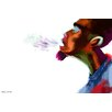 "Maxwell Dickson ""Guy Breath"" Painting Prints on Canvas"