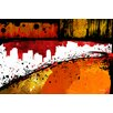 "Maxwell Dickson ""Streets of Gold"" Painting Print on Canvas"