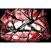 "Maxwell Dickson ""Shattered Lips"" Graphic Art on Canvas"