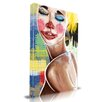 Maxwell Dickson 'Tears of a Clown' Graffiti Graphic Art on Wrapped Canvas