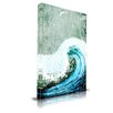 Maxwell Dickson 'The Great Wave' Painting Print on Wrapped Canvas