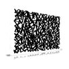 Maxwell Dickson Abstract 'Maze of Life' Graphic Art on Wrapped Canvas