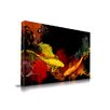 Maxwell Dickson 'Koi Fish' Asian Graffiti Painting Print on Wrapped Canvas