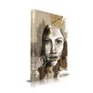 Maxwell Dickson 'Lost' Portrait Graphic Art on Wrapped Canvas
