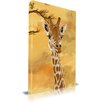 Maxwell Dickson 'Giraffe' Children Animal Graphic Art on Wrapped Canvas