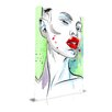 Maxwell Dickson 'Subtle' Portrait Fashion Graphic Art on Wrapped Canvas