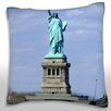 Maxwell Dickson Statue of Liberty, New York City, USA Throw Pillow