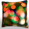 Maxwell Dickson Christmas Lights Throw Pillow