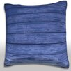 Maxwell Dickson Wood Siding Throw Pillow