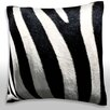 Maxwell Dickson Stripes on Zebra Throw Pillow