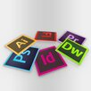 Maxwell Dickson Adobe Icons Coaster (Set of 6)