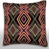 Maxwell Dickson Texture Diamonds Throw Pillow