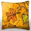 Maxwell Dickson Autumn Leaves Throw Pillow
