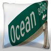 Maxwell Dickson La Jolla, San Diego, California Throw Pillow